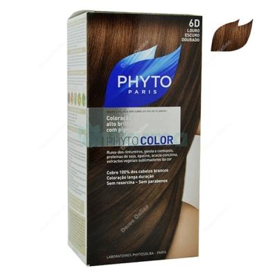 Phytocolor-6D-Louro-Escuro-Dourado